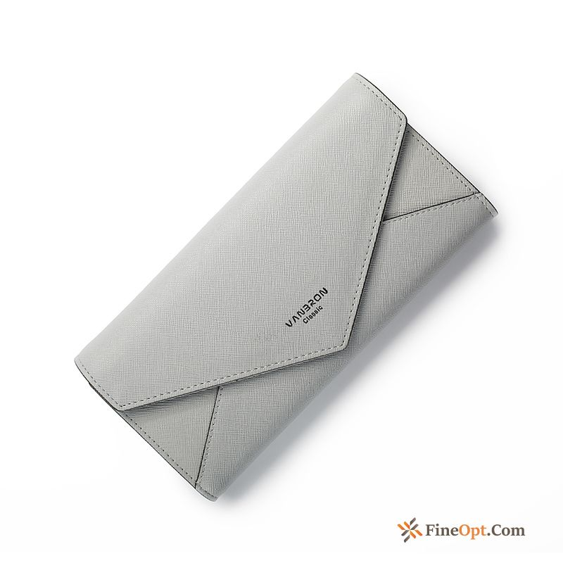 Fashion Clutch Buckle Women Wallets Three Fold Student For Sale