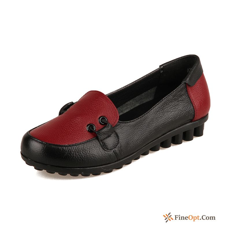 Flat Flat Round Toe Pumps Anti-skid Soft Sole Loafers Discount