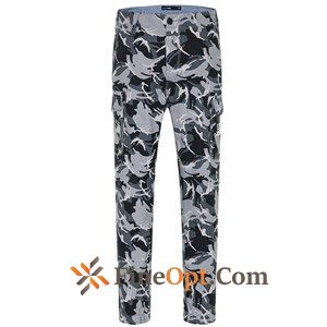 Flower Fashion Men's Letter Low Waist Printing Ninth Pants Pants Sale
