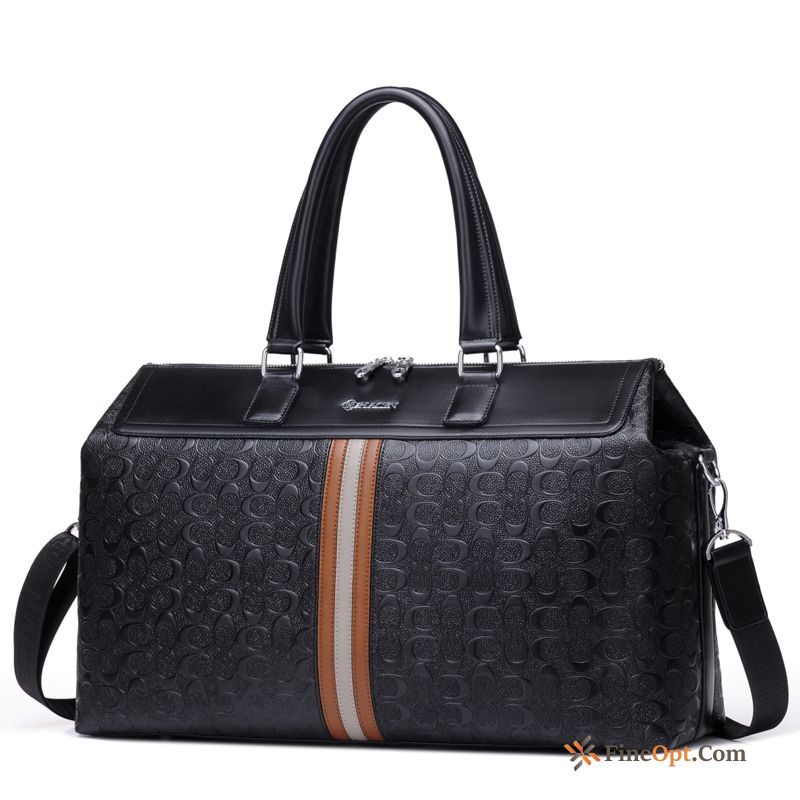 Handbag Business Men's Bags Fine Leisure Cross Section Navy Blue Shoulder Bag Online