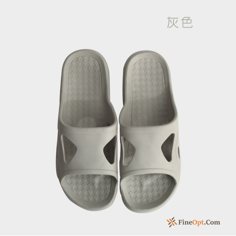 Indoor Lovers Anti-skid Thick Sole Gray Slippers Summer Slippers Online