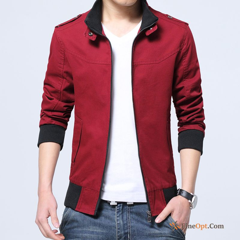 Jacket Coat Slim Pure Trend Skinny Cotton Jacket