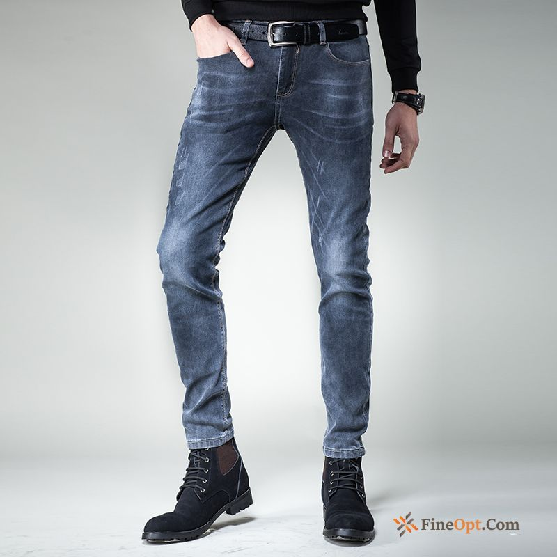 Jeans Europe Slim Trousers Youth New Trend