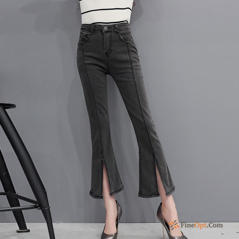 Jeans Pants New Trend Bell-bottoms Spring Leisure Pants Discount