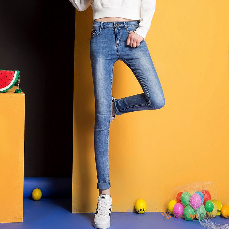 Jeans Skinny Slim Thin Large Size New Spring Modena Sale