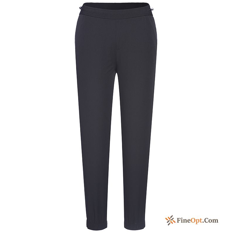 Jogging Leisure Tight Pants Elasticity Spring Sport Ultramarine Pants