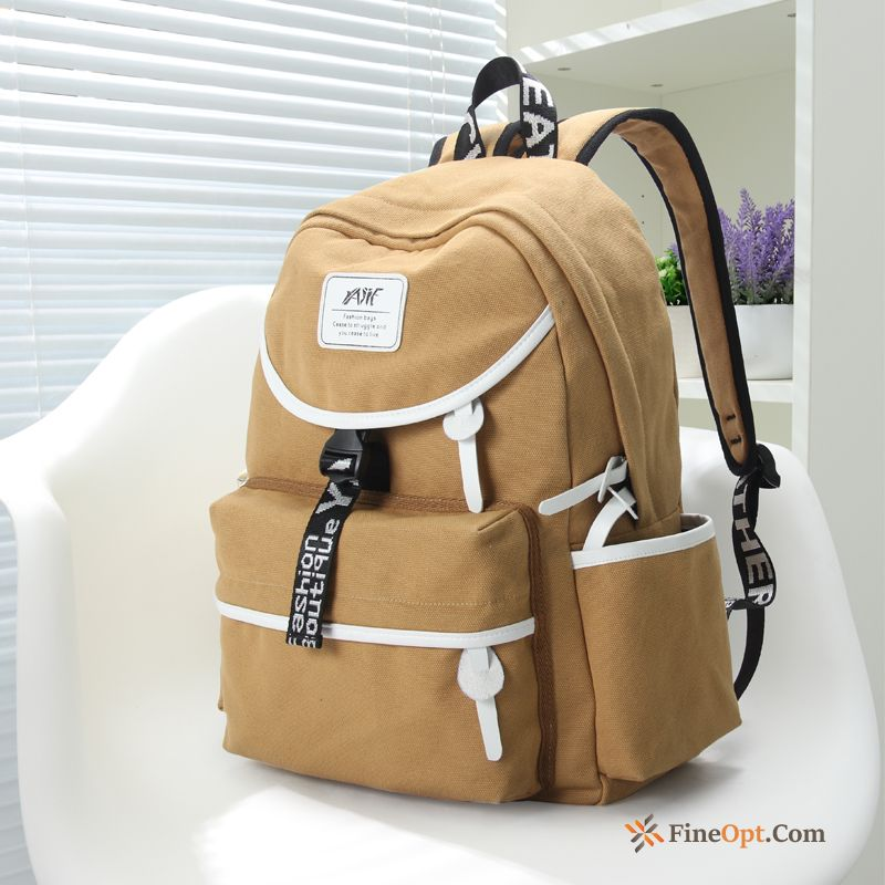 Leisure Campus Simple Backpack All-match School Bag Women Backpack