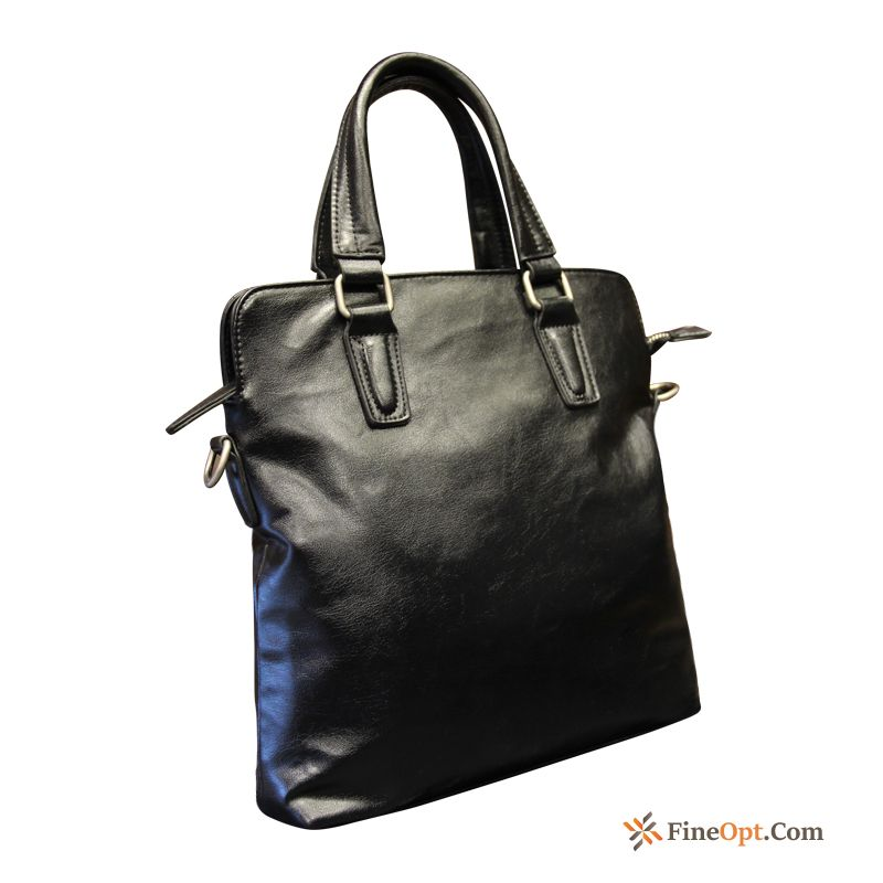 Leisure Men's Fashion Trend Briefcase Business Simple Handbag Sale