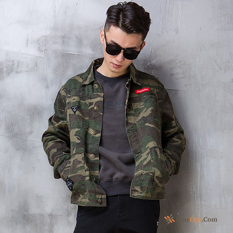 Leisure Multi-pocket New Cargo Jacket Short Men's Jacket Sale