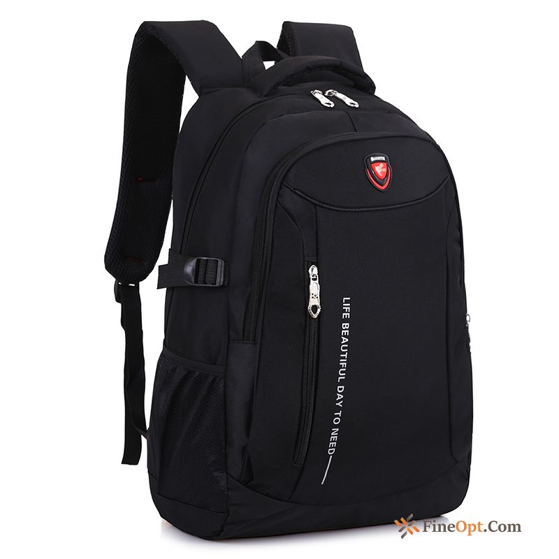 Leisure Travel High School School Bag Men Business Men's Backpack Discount