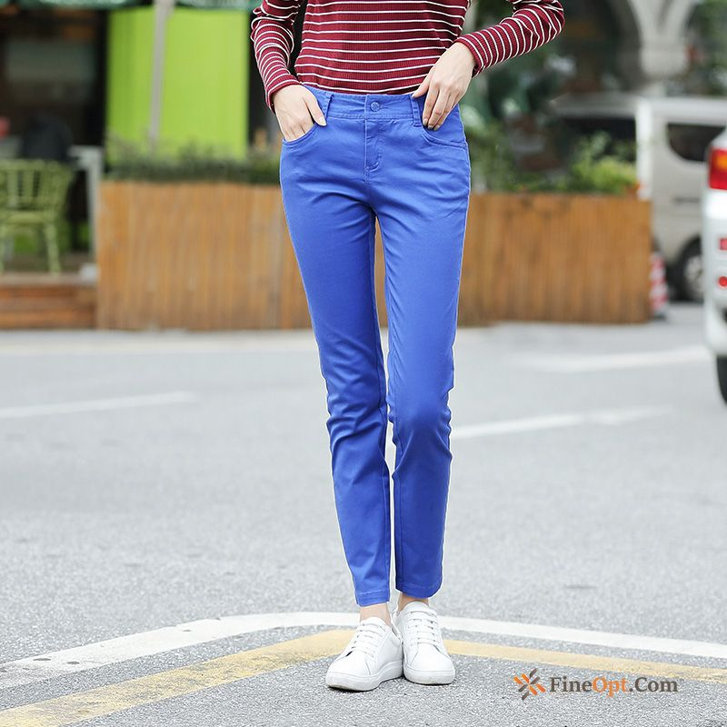 Leisure Trousers New Spring Europe Trend Skinny Pants For Sale