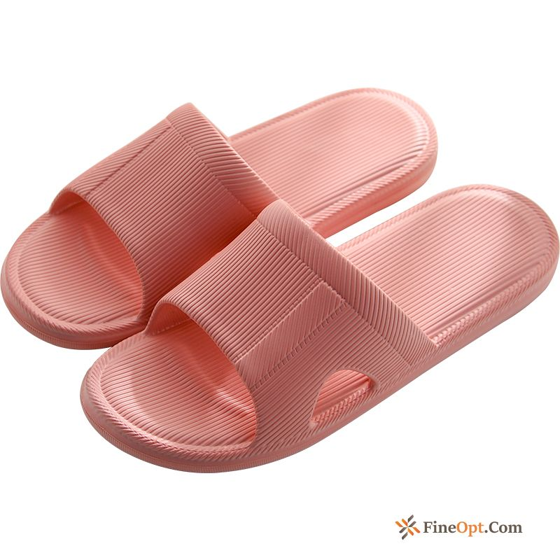 Light Anti-skid Lovers Summer Indoor Pink Thick Sole Slippers