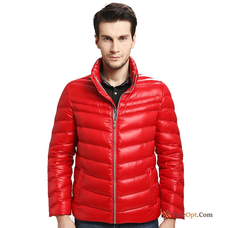 huge discount 6706a 01f12 Light Down Jacket Fashion Winter Clothes Stand Collar ...