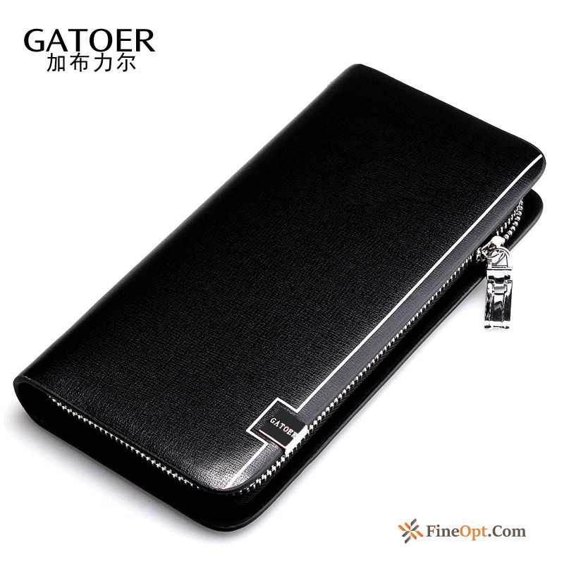 Long Section Youth Business Clutch Bag Multifunction Men New Wallets Sale