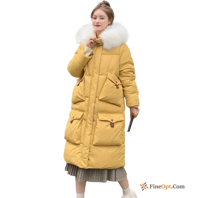 Long Winter Coat All-match Cotton Thickening New Cotton Coat Online