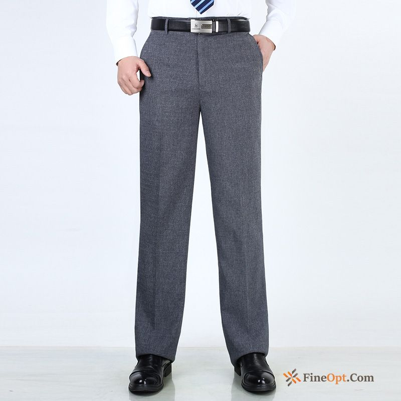 Loose Middle Aged Skinny Men's Spring Leisure Trousers Pants