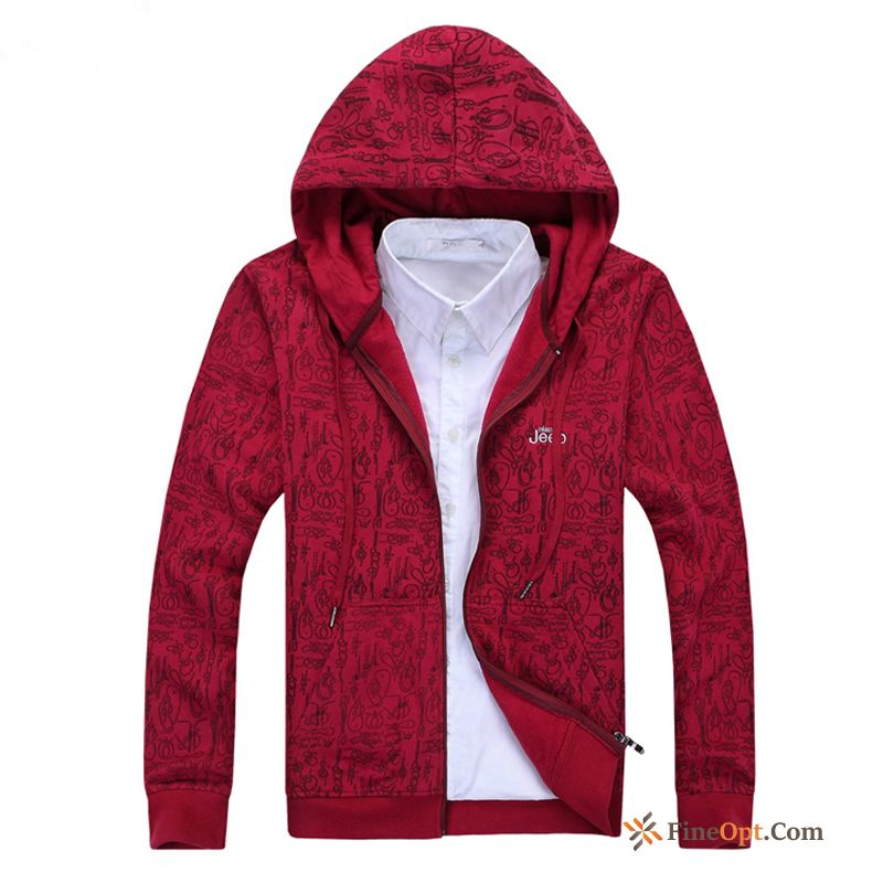 Loose Sport Student Hooded Coat New Europe Coral Hoodies