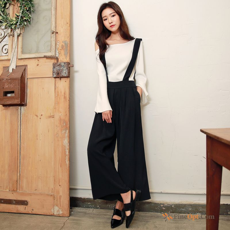 Loose Trousers Trend Pants New Student Europe Grey Pants