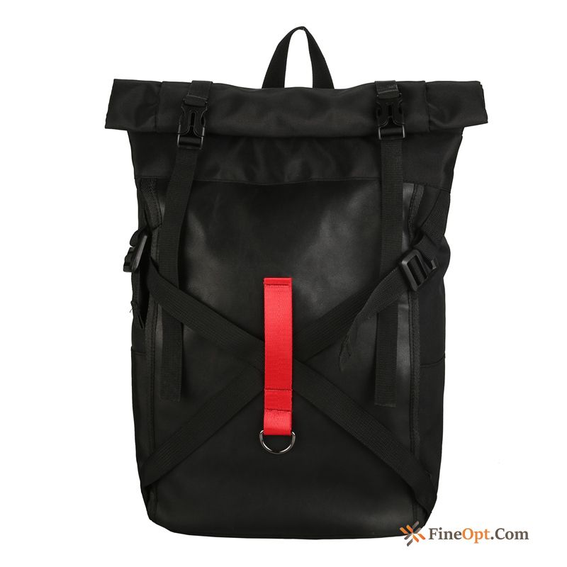 Lovers Backpack Trend Women Fashion Black Travel Backpack
