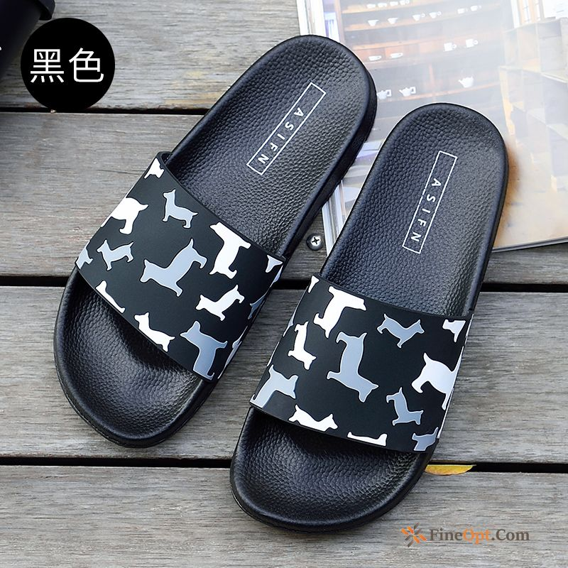 Lovers Home Fashion Summer Indoor Men's Anti-skid Slippers