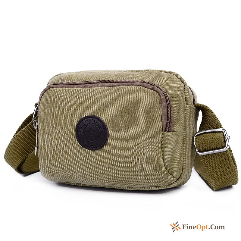 Men Small Men's Leisure Summer Canvas Messenger Bag Shoulder Bag Online