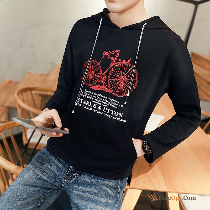 Men's Coat Hoodies Long Sleeves Student Pullovers Autumn Hoodies