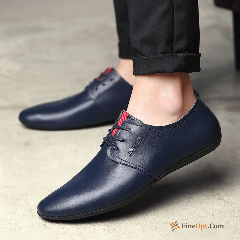 Men's Leather Shoes Genuine Leather