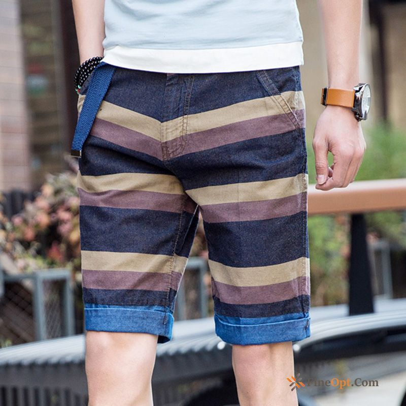 Men's Skinny Fashion Short Pants Leisure New Shorts Discount