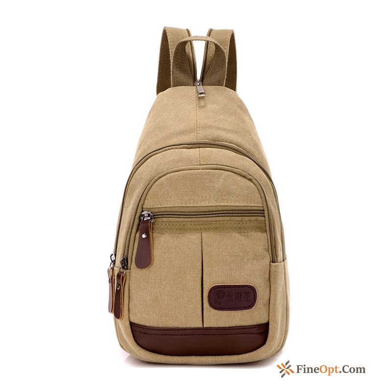 Multifunction Backpack Chest Pack Women Men Messenger Bag Trend Cream Shoulder Bag For Sale