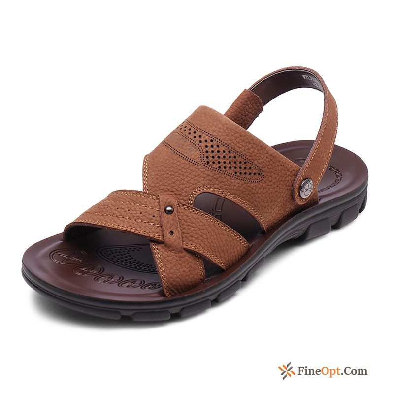 New Beach Anti-skid Sandals Men's Open Toe Casual Sandals Discount