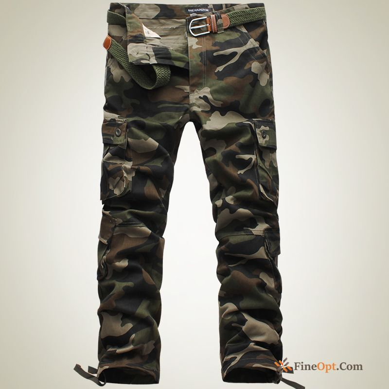 New Camouflage Leisure Student Autumn Men's Trousers Pants Sale