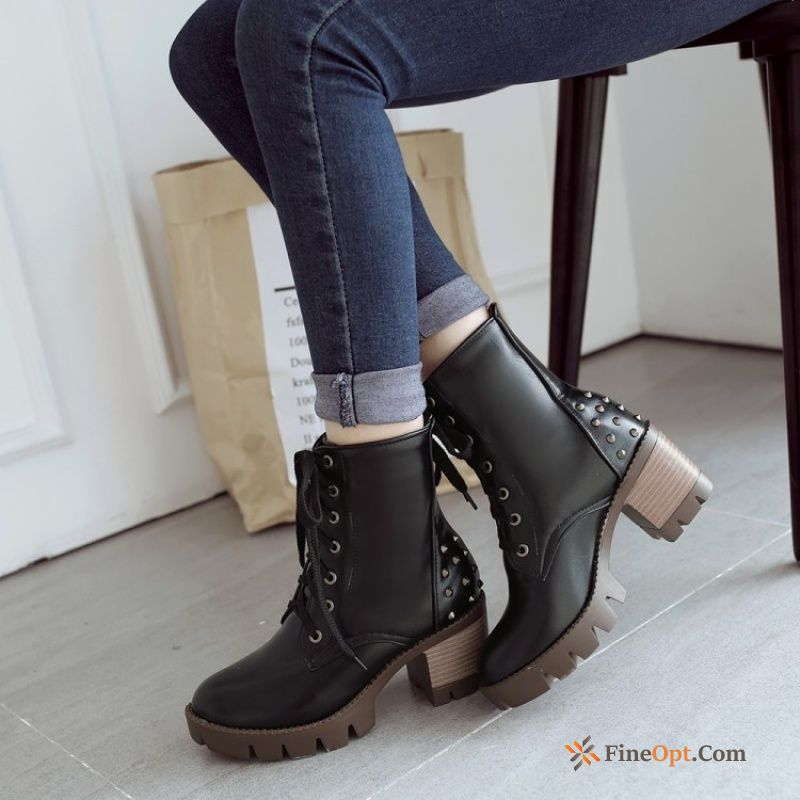 New Comfortable Boots Short Boots Autumn Martin Boots Trend Sale