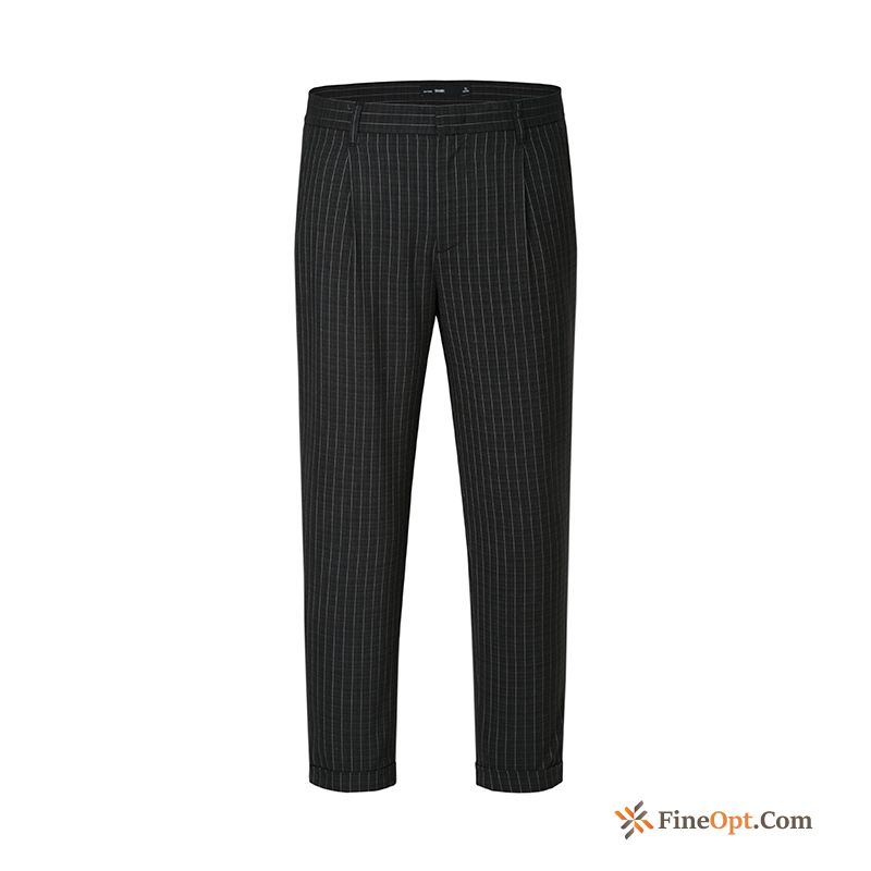 New Europe Fashion Cone Leisure Men's Ninth Pants Pants