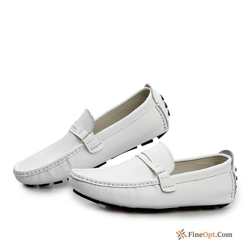 New Loafers All-match Casual Spring Trend Men's Nude