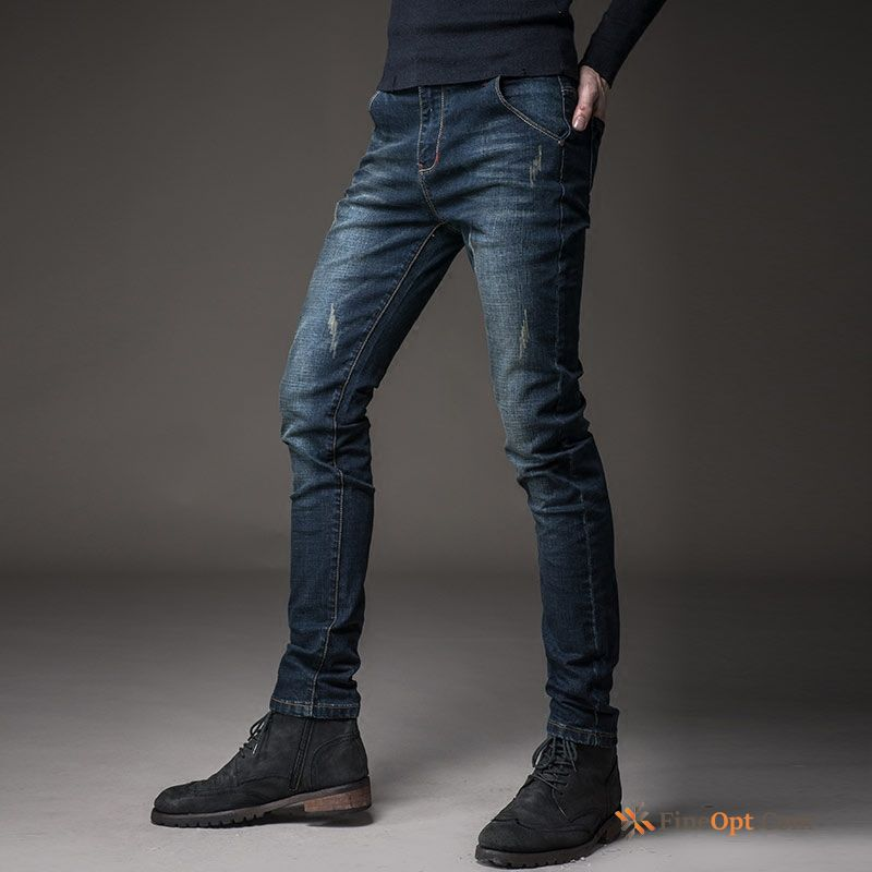 New Straight Summer Jeans Slim Europe Elasticity Online