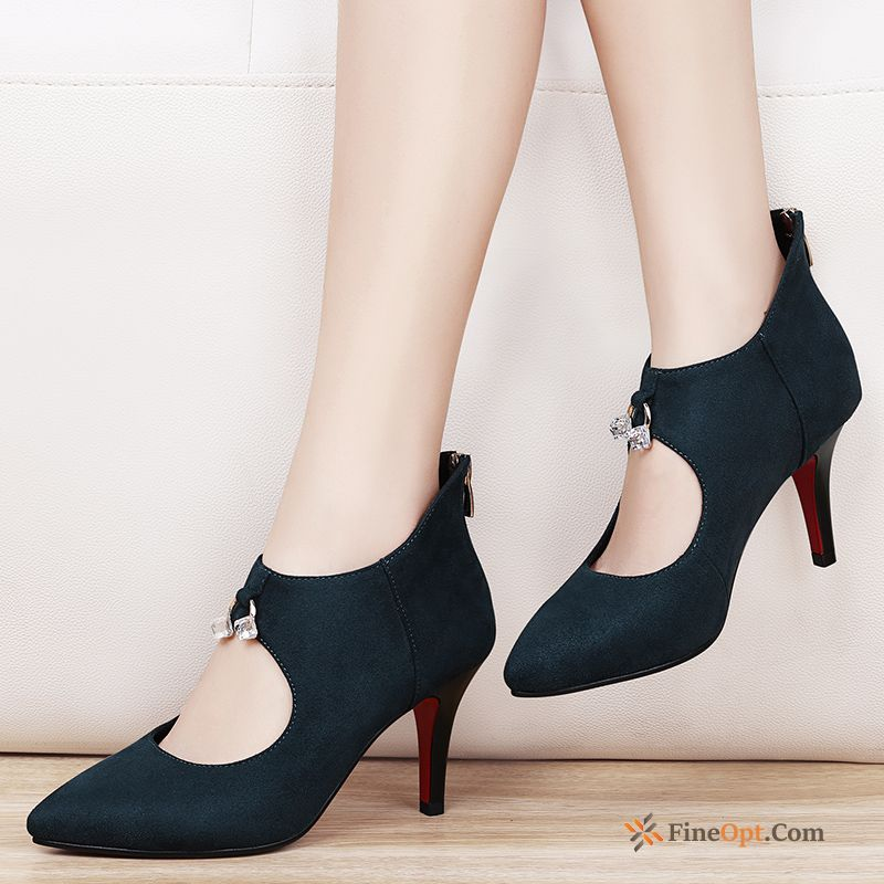 New Thin Heels Spring Trend Pumps High Heels Pointed Toe Discount