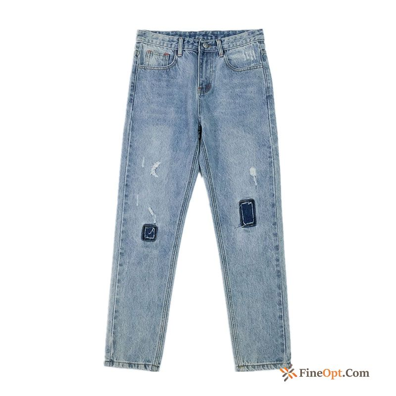 Pants Jeans Blue Europe Trend Student Spring