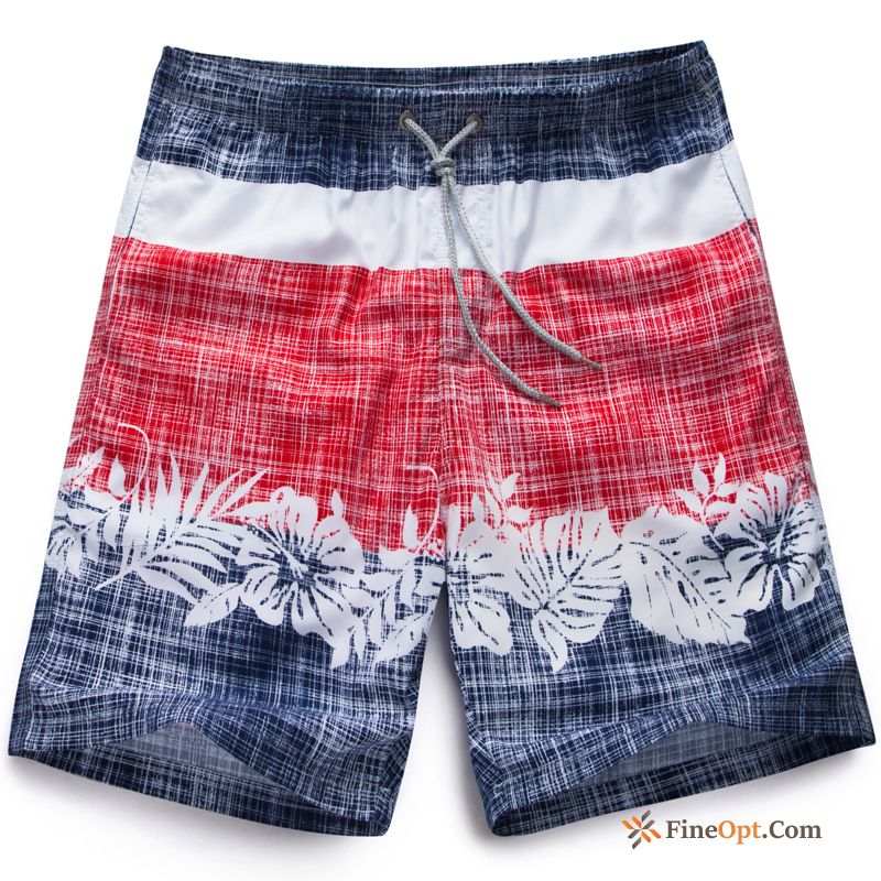 Pants Loose Beach Trend Leisure Swimming Pants Vacation Pansy Shorts