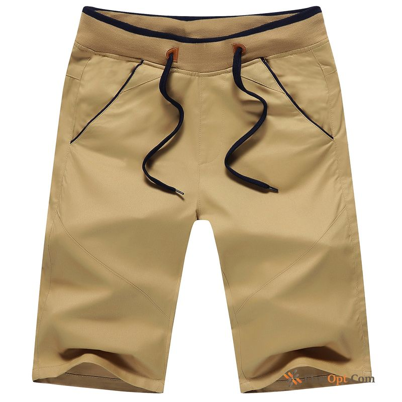 Pure Shorts Leisure Cotton Men's New Beach For Sale