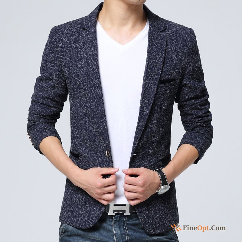 Pure Youth Large Size Blazer Europe Suit Slim