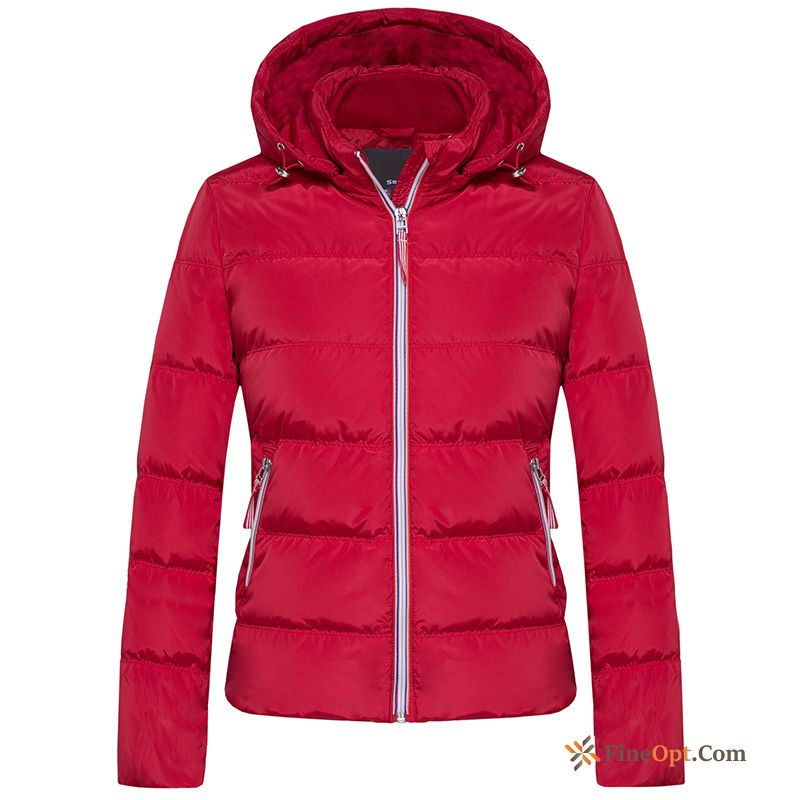 Removable Cap New Winter Clothes Pure Down Jacket Warm Short