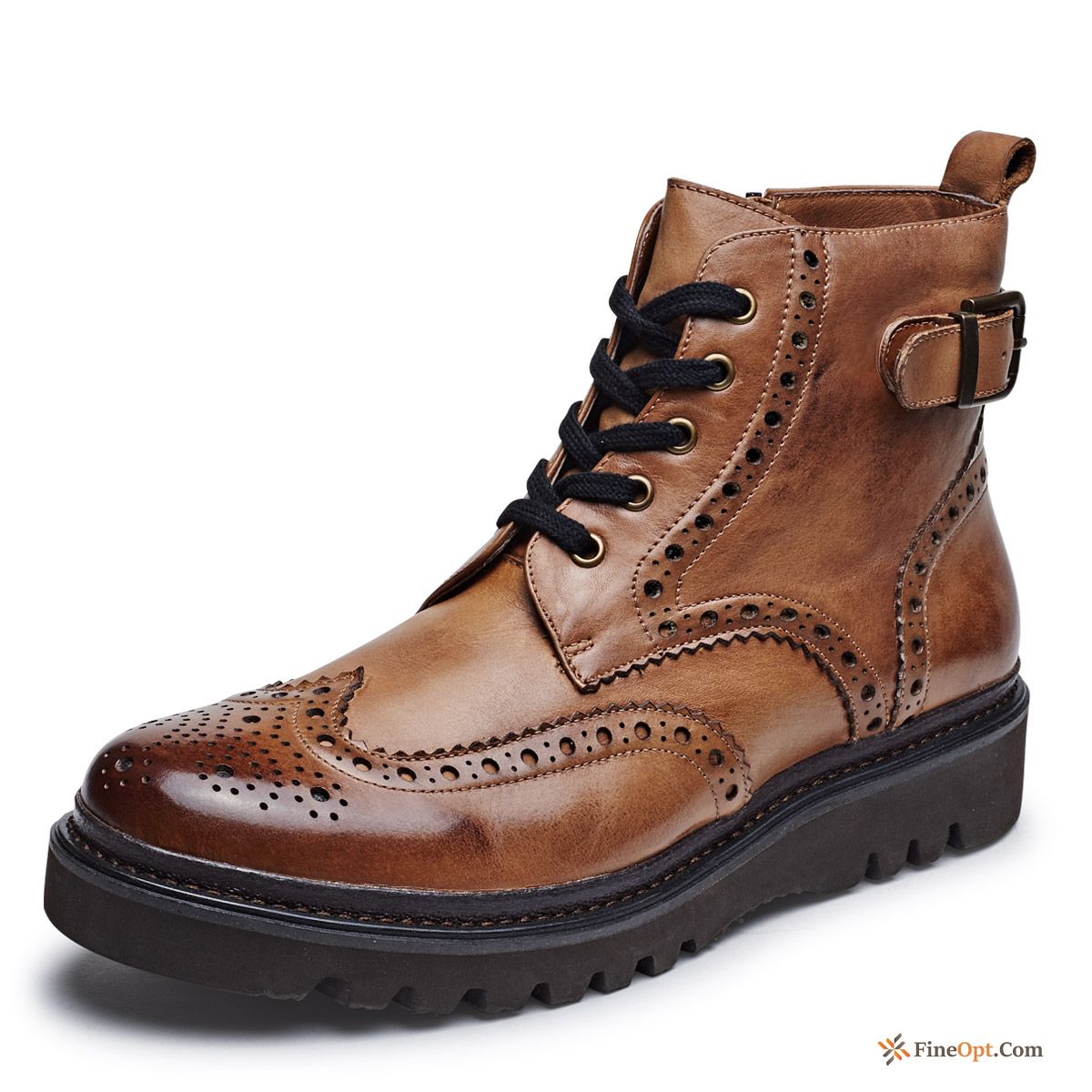 Retro Short Boots High Top British Casual Trend Men's Boots For Sale