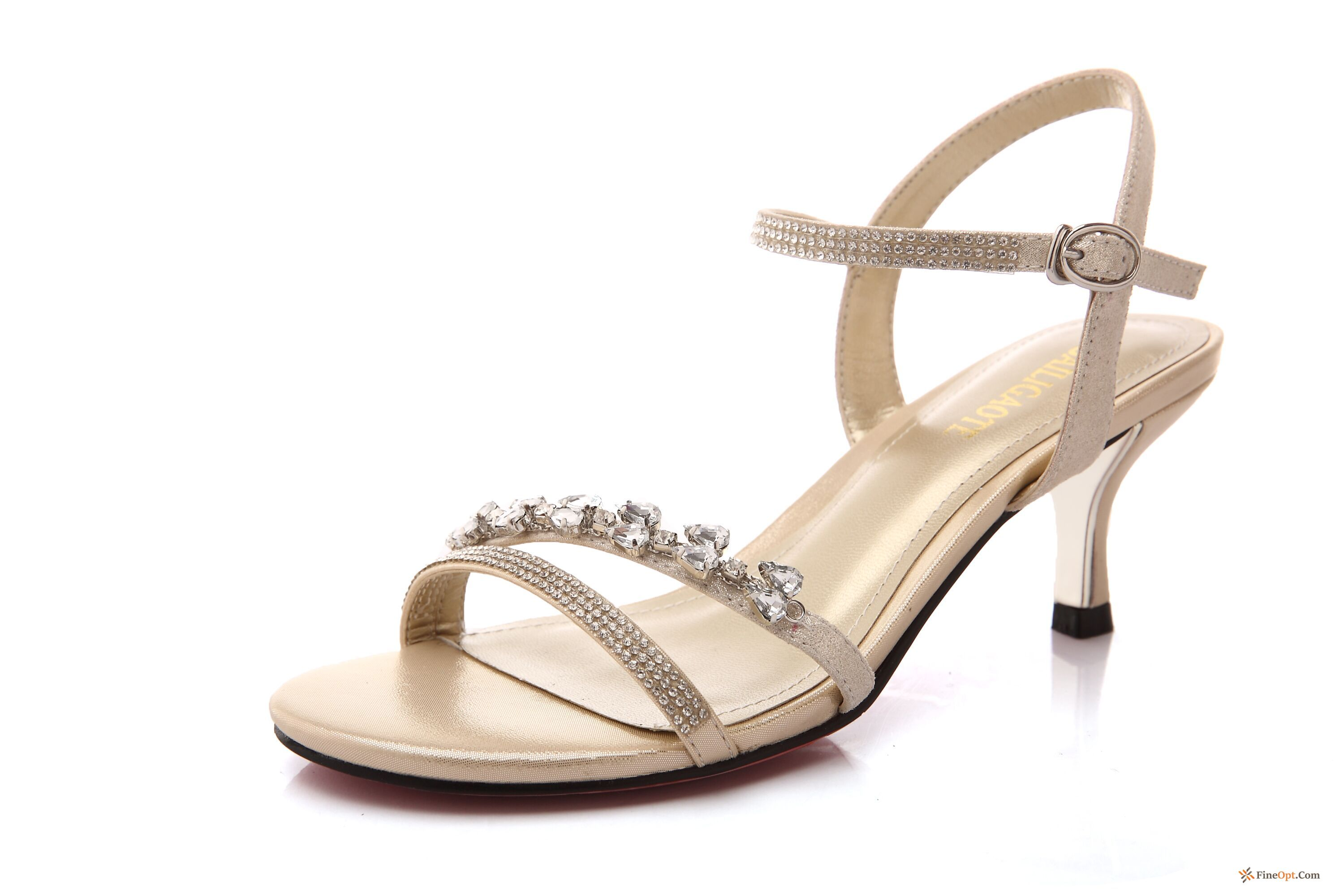 Rhinestones Summer Especially Sandals Sexy Open Toe Genuine Leather Sandals