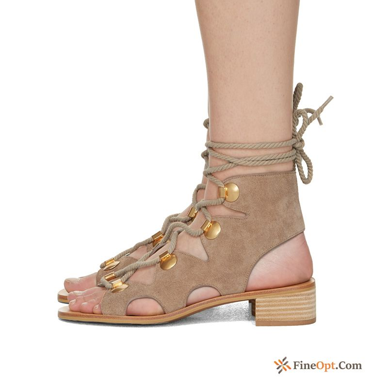 Rome Lace-up Summer Fashion Sandals Beach Straps Sandals For Sale
