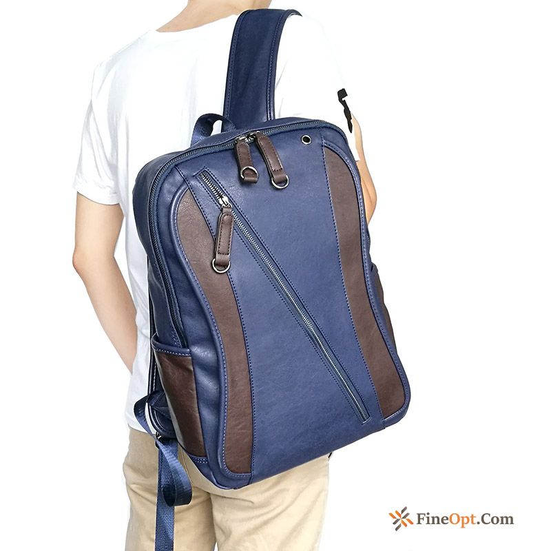 School Bag New Backpack Leisure Street Travel Bag Men's Backpack