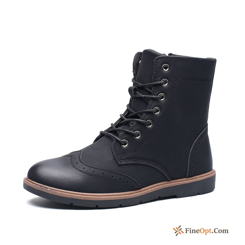 Short Boots Trend Martin Boots Spring Men's Boots High Top