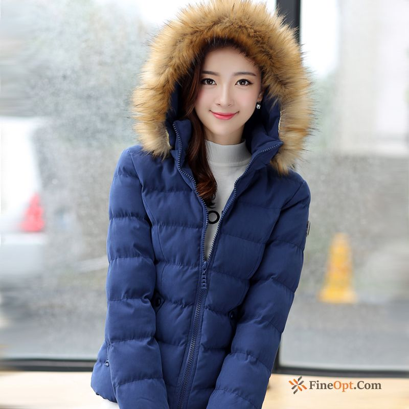 Short New Large Size Cotton-padded Slim Cotton Thickening Down Jacket