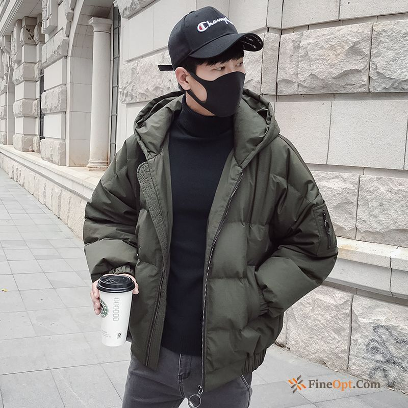 Short New Student Trend Cotton Coat Men's Cotton Jacket Online