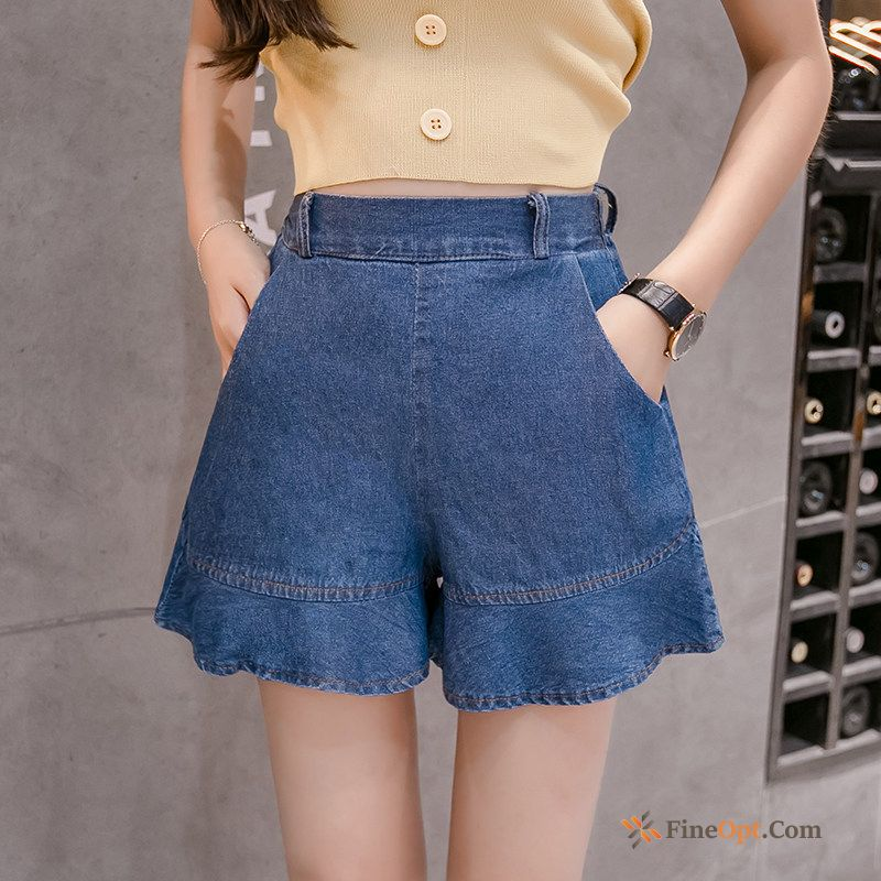 Short Pants Dark Pants Summer Student High Waist Europe Shorts