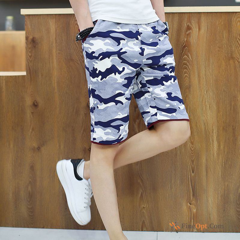 Short Pants Slim Big Men's Cropped Trousers Leisure Summer Shorts